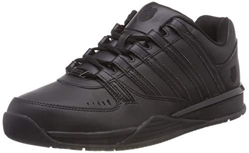 K-Swiss Herren Baxter Sneaker, Schwarz Black 010), 44.5 EU