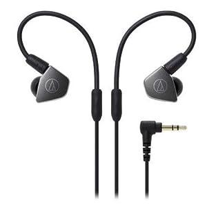 Audio-Technica ATH-LS70iS Live-Sound In-Ear-Kopfhörer schwarz/grau