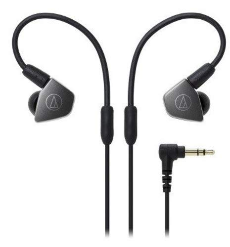 Audio-Technica ATH-LS70iS Live Sound Dynamic In-Ear Headphones with In-Line Mic & Control