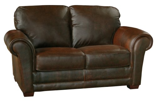 Hot Sale Luke Leather Mark Loveseat