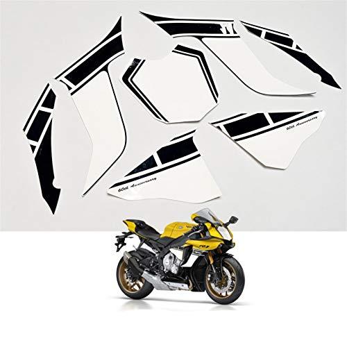 Kit para 2016 Yamaha R1 60 aniversario ABS pegatinas de ABS Motocicleta Coche entero Carne de carne de calcomanías YZFR1 YZF1000