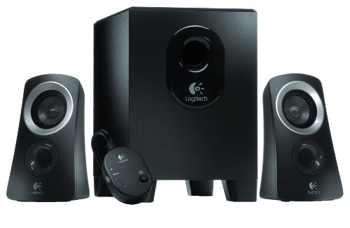 Logitech Z313 2.1 Channel Multimedia Computer Speaker System with Subwoofer (Renewed)