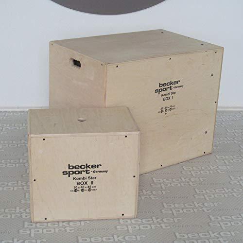 KombiStar BOX I y BOX II como set de 12 alturas de salto, 9...