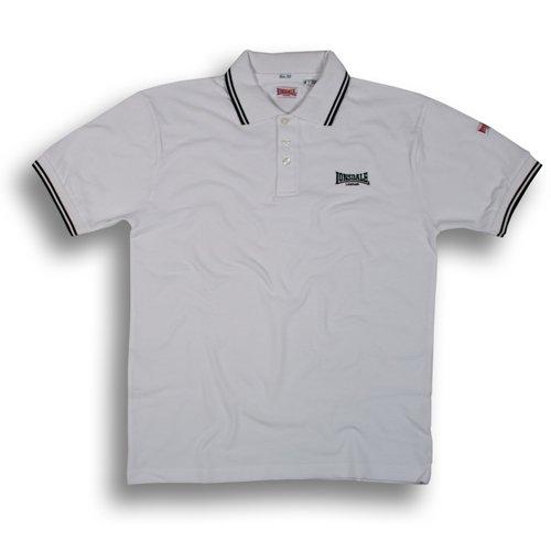 Lonsdale London Classic Polo Loxley 111004 white/black Gr.XL