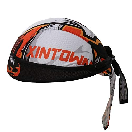 RNGZC Gorro de Pescador Mountain Bike Pirate Hat Humedad Transpirable Equitación Turbante...