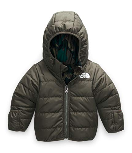The North Face Infant Reversible Perrito Jacket, New Taupe Green, 6-12 Months
