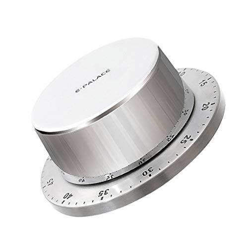 Ruiboury Temporizador de cocina Base Magnética Manual Mecánica Temporizador de Cocina Hornear Freidora Cuenta Regresiva Herramientas de Coc