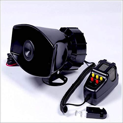 Fengg Auto sirene luidspreker megafon claxon sirene alarm 12 V 100 W auto sirene voertuig hoorn met microfoon luidspreker systeem noodgevallen geluid versterker cars Vans Truck