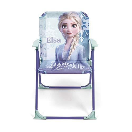 Arditex WD12994 - Sedia pieghevole con braccioli da 38 x 32 x 53 cm di Disney-Frozen II