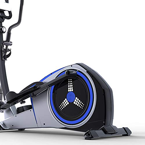 YAMMY 3 in 1 Professional Elliptical Cross Trainer, Cardio Home Office Fitness Workout Machine with Quiet Brake System for All Ages Max User Weight 150 Kg 2