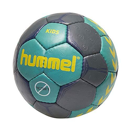 Hummel Kinder Kids Handball, Viridian/Ombre Blue/Gelb, 0