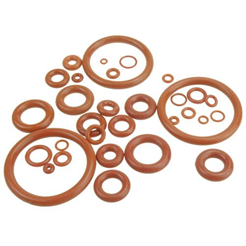 1mm Thickness Silicon Rubber O-Ring Sealing Washer, 14mm X 1mm 30 Pcs, 1Mm