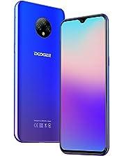DOOGEE X95 (2020) Smartphone ohne Vertrag Günstig 6,52 Zoll HD+ Display 4350mAh Akku 13MP+2MP+2MP Kamera 16GB ROM 128 GB Erweiterbar Dual SIM Android 10.0 Einsteiger Handy (Blau)©Amazon