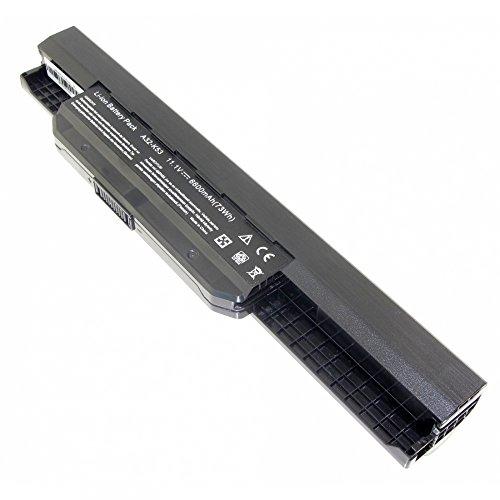 MTXtec Batterie, LiIon, 10.8V, 6600mAh, Noir pour ASUS X53S