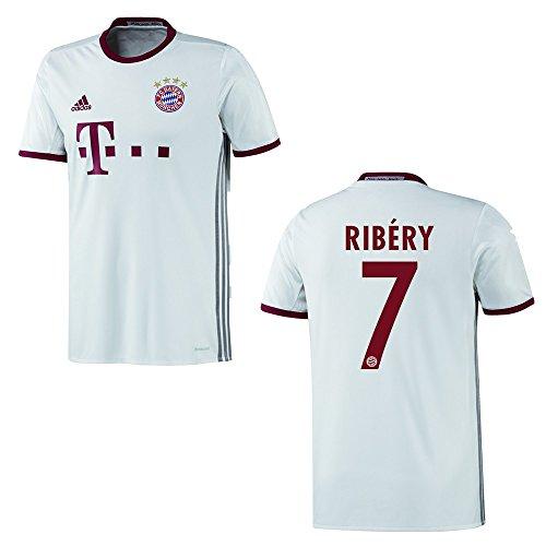 adidas FC Bayern MÜNCHEN Trikot 3rd Herren 2016/2017 - Ribery 7, Größe:XXL