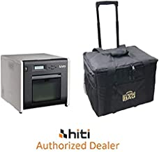 Hiti P525L Photo Printer - BUNDLE - with Rolling Carrying Case