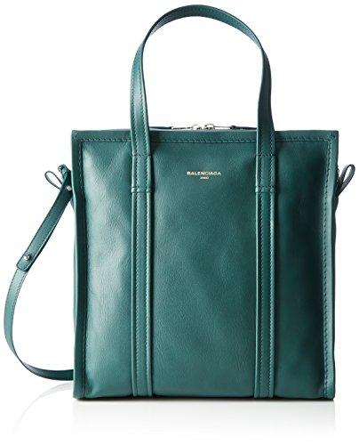 Balenciaga 443096, Bolso Mujer, Verde (Vert Fonce), 15x29x28 cm (B x H x T)