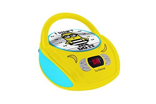 Lexibook RCD108DES Radio CD Player Minions: Despicable Me 3, Ich, einfach unverbesserlich 3