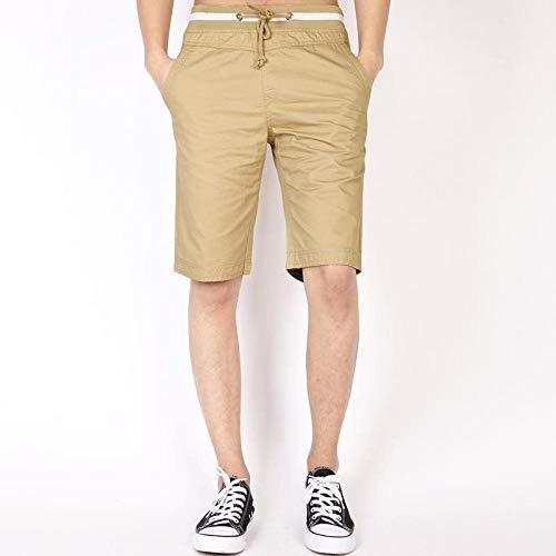 Nouveau Mode Hommes Pantalons De Survêtement Courts Coton Jogger Shorts De Plage À L' Extérieur Printemps Été Shorts XXXL Kaki