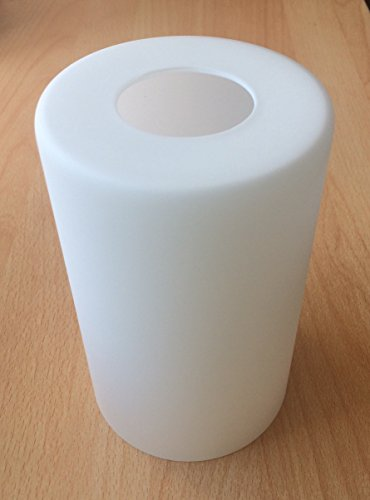 Pantalla de lámpara G0770, cristal, cristal de repuesto E27, pantalla de repuesto para lámpara colgante, lámpara de mesa, foco