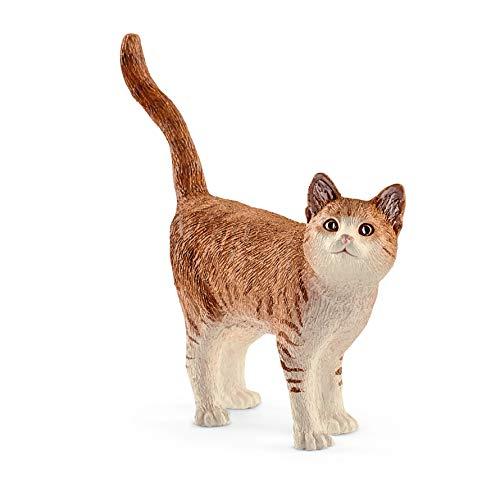 Schleich- Gato Figura, Multicolor (13836)