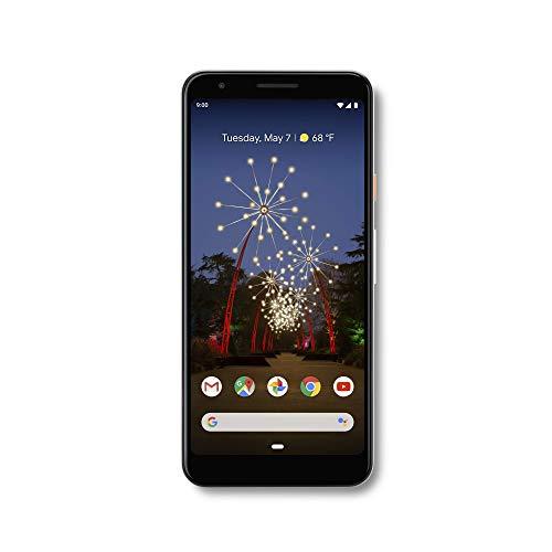 Google - 3a Pixel com Cell Phone 64GB de memória (desbloqueado) - Claramente Branco