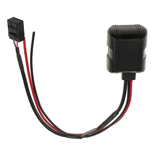 B Blesiya Bluetooth Aux en Adaptador 10 Pin Cable para E46 Cd Radio