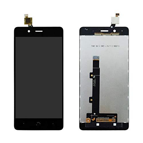 MOLIBAIHUO Compatible con BQ X5 Plus LCD Nuevo Stock de exhibición Montaje digitalizador de Pantalla táctil con Marco LCDs (Color : NO Frame Black)