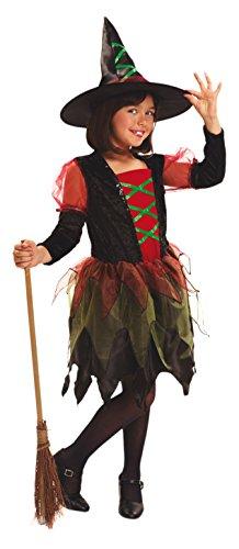 My Other Me Me-200034 personajes fántasticos Disfraz de Brujita de colores para niñas, 5-6 años (Viving Costumes 200034)