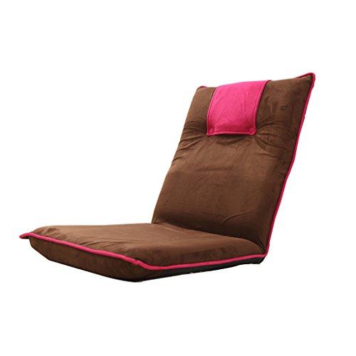 Fu Man Li Trading Company Canapé pèse-personne pliable Canapé-lit Chaise à dossier simple A+ ( Couleur : Rouge )
