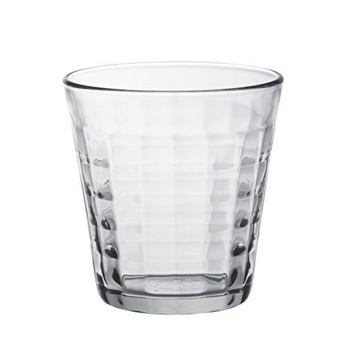 Duralex - Gobelet 27,5 cl Prisme Transparent - Lot de 6