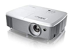Optoma EH400 DLP Projektor (1080p Full HD, 4000 Lumen, 22.000:1 Kontrast, 3D, Zoom 1,1x) weiß