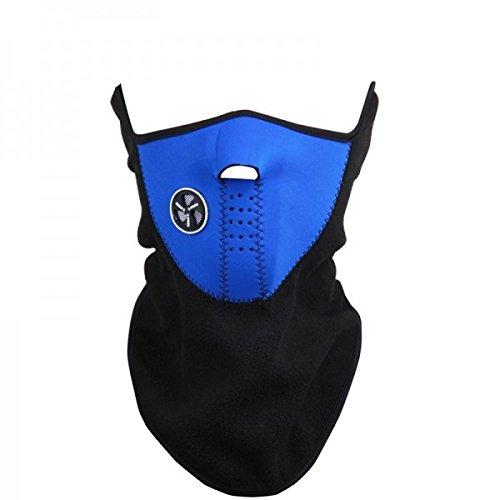 Adembeschermingsmasker, winddicht, voor motorfiets - donkerblauw