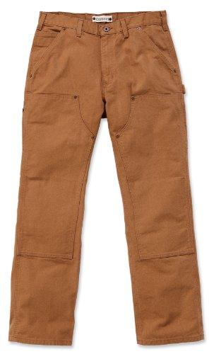 Carhartt EB136 Double Front Work Jeans schlanke B01 Herrenhose khaki 42/32