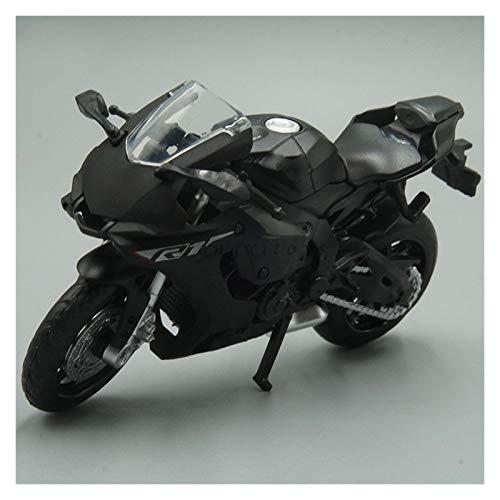 DSWS Kit de modelo de motocicleta 1:18 para Yamaha YZF-R1 modelo de motocicleta fundido a presión para adultos y niños colección de adornos (color: 2)