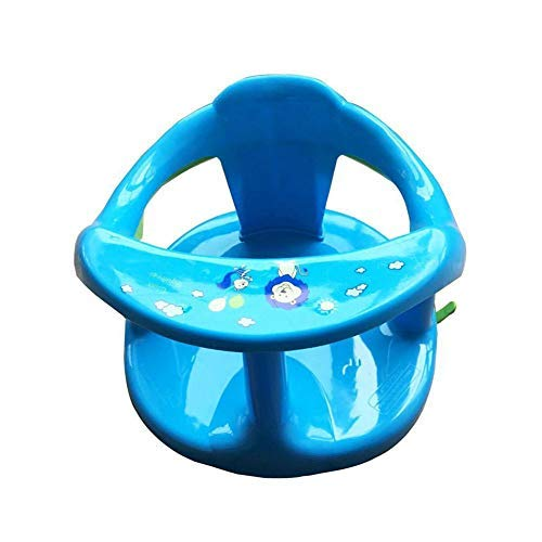 Baby Bath Seat, Baby Plastic Bathtub Seat, Unfoldable Baby Bath Seat with Backrest Support and Suction Cups, Baby Safety Bath Seat, Tub Seats for Babies, Baby Bathtub Seat for Stability-Baby Bath Seat