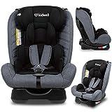 KIDWELL MAVER Autositz Kindersitz 0-36 kg   0-11 Jahren   Gruppe 0/0+ / 1/2/3   mit 5-Punkt-Gurtsystem   verstellbare Kopfstütze   stabil & sicher   Grau