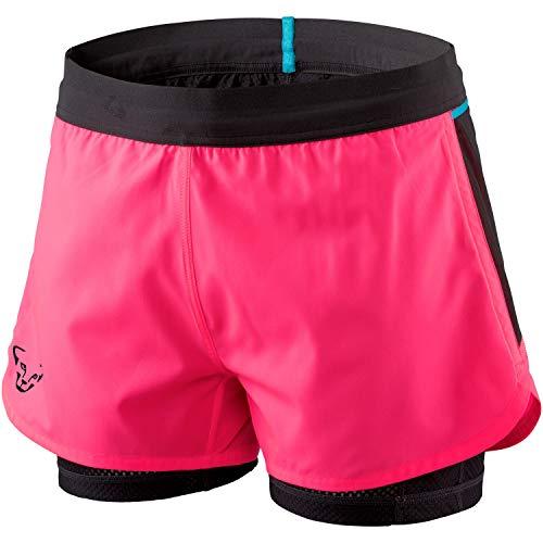 DYNAFIT W Alpine Pro 2in1 Shorts Pink, Damen Hose, Größe 40 - Farbe Fluo Pink