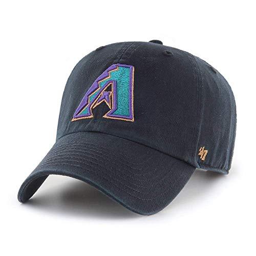 '47 Arizona Diamondbacks Cooperstown Clean Up Classic Style Adjustable Cap