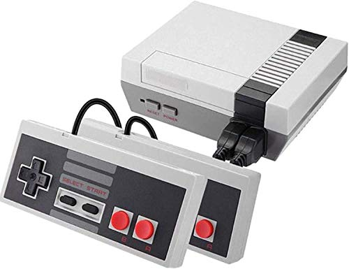 Classic Mini Retro game console, Built-in 620 video games Plug and Play, Old Game System with 2 NES Classic Controllers, AV Output Mini NES Console, Old School Games Console for Kids and Adults