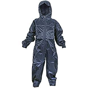 Dry Kids Waterproof Rainsuit Navy 3/4yrs