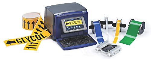 Brady S3100 Sign and Label Printer - Prints Industrial Labels and Facility Signs - S3100-W
