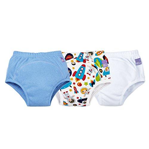 Bambino Mio 3TPB 3+ MX Ragazzo Misto, Outer Space, Mutandina Allenatrice, Confezione Da 3, 3+ Anni, Multicolore