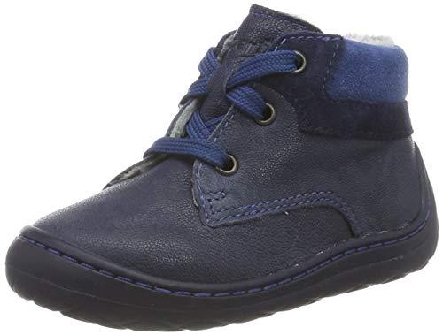 Superfit Baby Jungen SATURNUS 500336 Sneaker, Blau (Blau 80), 17 EU