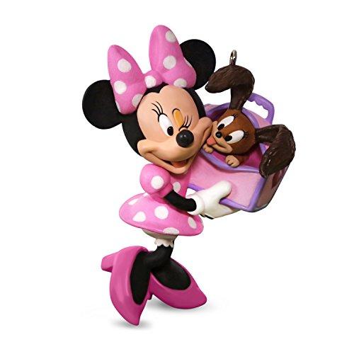 Hallmark Keepsake 2017 Disney Minnie Mouse Girls Best Friend Christmas Ornament