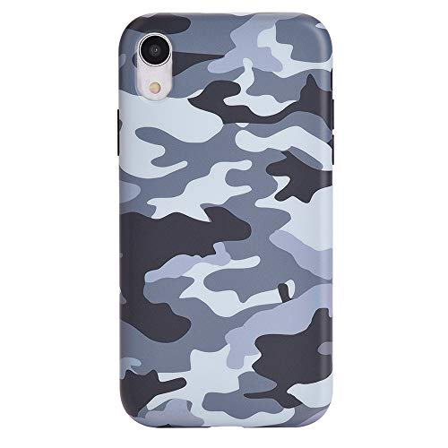 Velvet Caviar Compatible with iPhone XR Case Camo - Cool Protective Phone Cases for Girls & Men (Gray Camo)