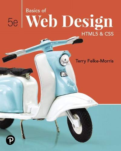 Basics of Web Design: HTML5 & CSS