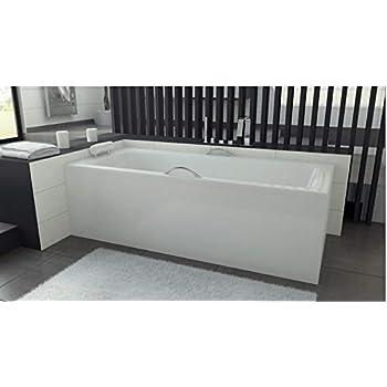 Azura Home Design Baignoire Veneto Avec Tablier 140 150 X 70 Et 160 170 X 75 Dimensions 170 X 75 Amazon Fr Cuisine Maison
