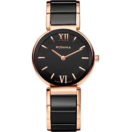 Rodania 25062-44 - Reloj para Mujeres, Correa de Acero Inoxidable