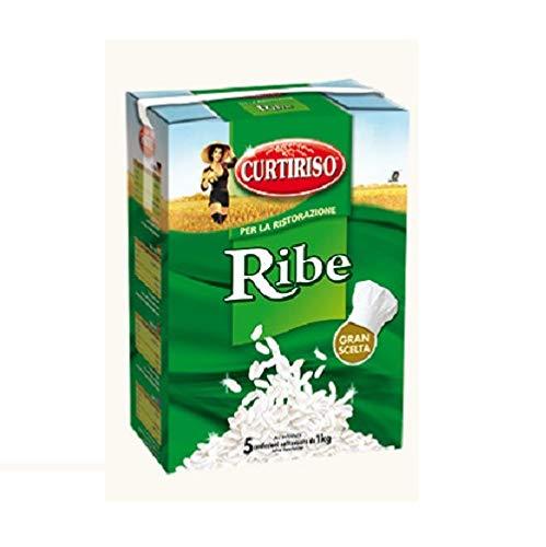 Curtiriso Riso Ribe-reis 5 Beuteln 1 kg Italienisch Reis